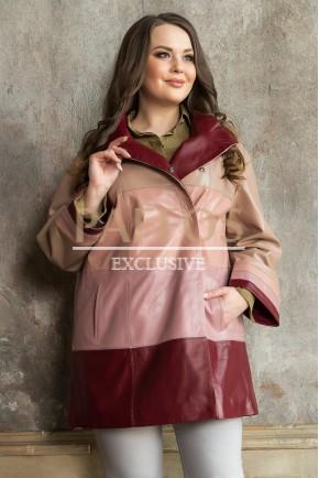 Разноцветная куртка на весну