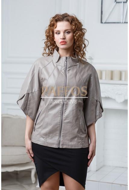Новинка Бежевая женская куртка