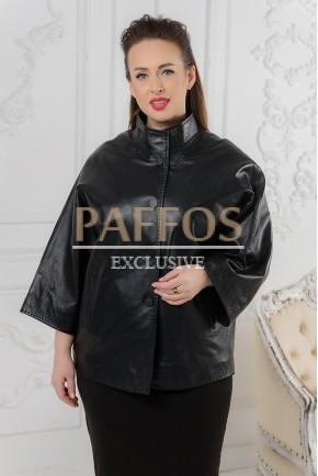 """Черная куртка в стиле """"летучая мышь"""""""