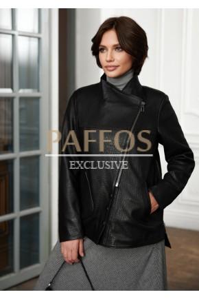 Женская черная куртка Весна
