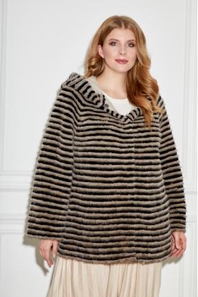 Пальто из норки больших размеров